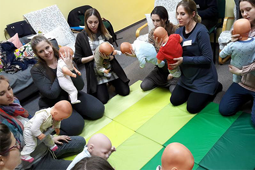 Childbirth classes - in English