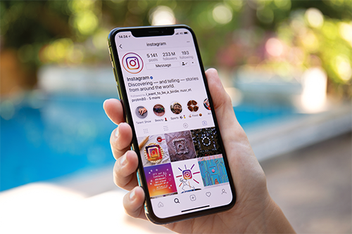 Building a company brand on Instagram