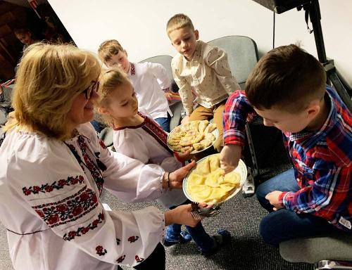 Online study visit - Ukrainian school